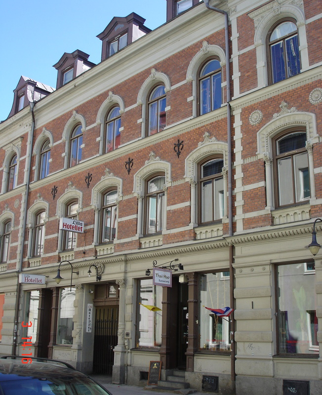 Hotel in Sundsvall. Street view Lilla Hotellet